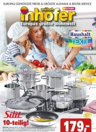 Möbel Inhofer Haushalt - Textil Fachmarkt Januar 2018 KW03
