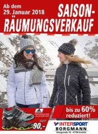 Intersport Saison-Räumungsverkauf Januar 2018 KW04