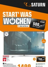 Saturn Start was Wochen Januar 2018 KW04 11