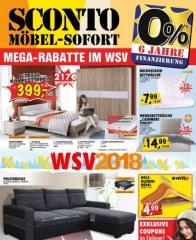 Sconto Möbel sofort Januar 2018 KW05 1