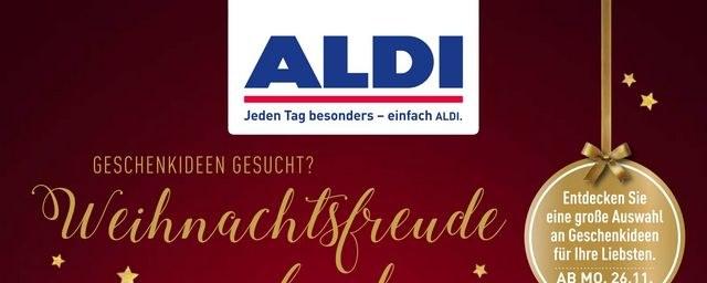 Prospekte ALDI Nord (Weihnachtsfreude ) November 2018 KW48