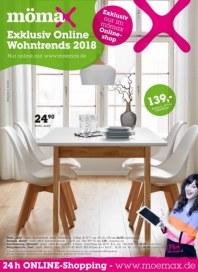 Prospekte Mömax (Exklusiv Online Wohntrends 2018) Oktober 2018 KW40