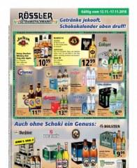 Prospekte Getränke Rössler (weekly) November 2018 KW46