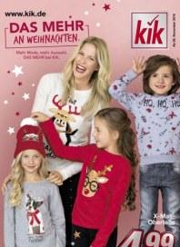 Prospekte KiK (Aktuelle Werbung) November 2018 KW45
