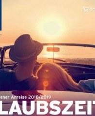 Prospekte Urlaubszeit 2018/19 November 2018 KW45