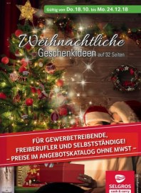 Prospekte Weihnachtliche Geschenkideen Oktober 2018 KW42