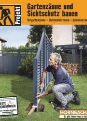Prospekte Hornbach (PK_0318_AT_Zaeune_und_Sichtschutz) März 2018 KW12