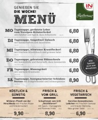 Prospekte INTERSPAR-Restaurant (KW47) November 2018 KW47