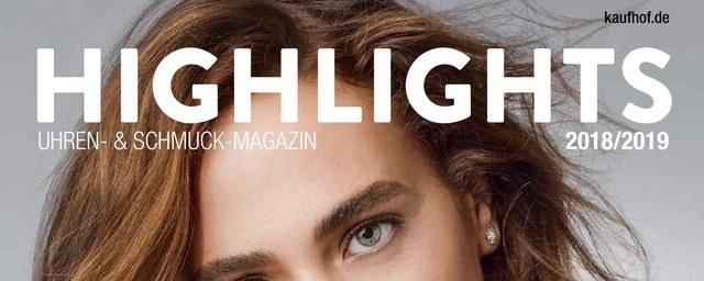Prospekte Galeria-Kaufhof (Uhren & Schmuck Magazin) November 2018 KW46