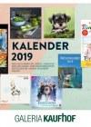 Prospekte Galeria-Kaufhof (Fachguide Kalender) November 2018 KW46-Seite1