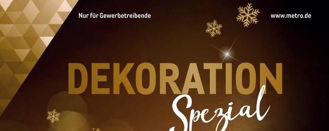 Prospekte Metro (Dekoration Spezial 15.11.2018 - 24.12.2018) November 2018 KW46