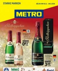 Prospekte Metro (Starke Marken 15.11.2018 - 28.11.2018) November 2018 KW46