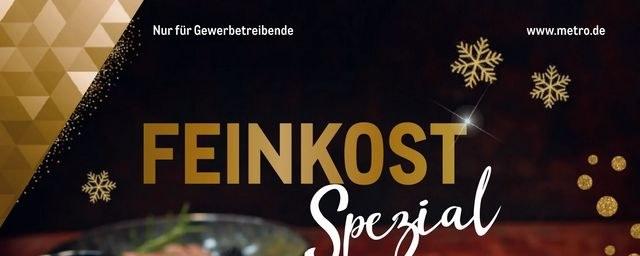 Prospekte Metro (Feinkost Spezial 15.11.2018 - 12.12.2018) November 2018 KW46