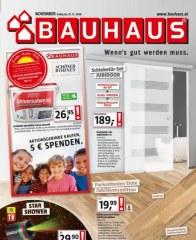 Prospekte Bauhaus KW47 November 2018 KW46