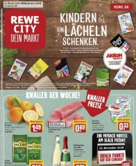 Prospekte Rewe City (weekly) November 2018 KW47 1