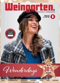 Weingarten Damen Grosse Grössen Maxi-Prospekt November 2018 KW48