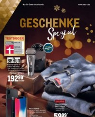 Metro Cash & Carry Metro (Geschenke Spezial 29.11.2018 - 24.12.2018) November 2018 KW48