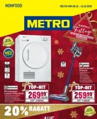 Metro Cash & Carry Metro (Nonfood 06.12.2018 - 12.12.2018) Dezember 2018 KW49
