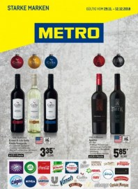 Metro Cash & Carry Metro (Starke Marken 29.11.2018 - 12.12.2018) November 2018 KW48