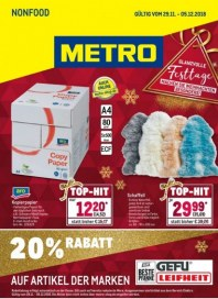 Metro Cash & Carry Metro (Nonfood 29.11.2018 - 05.12.2018) November 2018 KW48