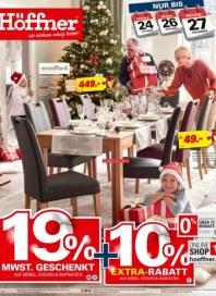 Höffner Höffner (Aktuelle Werbung) November 2018 KW46