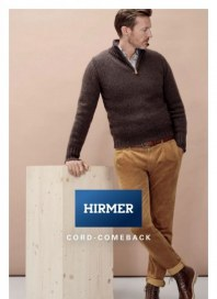 Hirmer Cord Comeback Oktober 2018 KW44