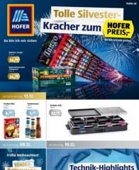 Hofer Hofer KW50 Dezember 2018 KW49