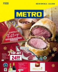 Metro Cash & Carry Metro (Food 06.12.2018 - 12.12.2018) Dezember 2018 KW49