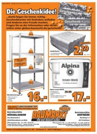 Globus Baumarkt Globus BM (weekly) Dezember 2018 KW50 5
