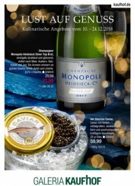 Galeria Kaufhof Galeria-Kaufhof Gourmet (Booklet Gourmet) Dezember 2018 KW50