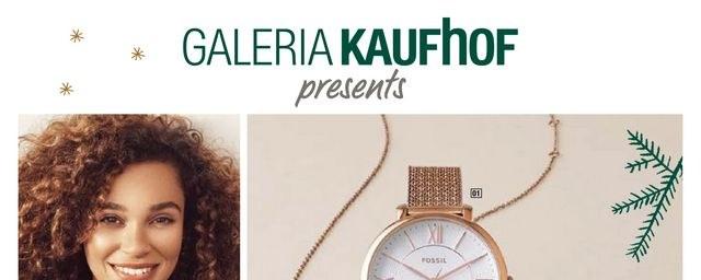 Galeria Kaufhof Galeria-Kaufhof (FOSSIL Uhren & Schmuck) Dezember 2018 KW50