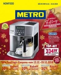 Metro Cash & Carry Metro (Non-Food 13.12.2018 - 19.12.2018) Dezember 2018 KW50