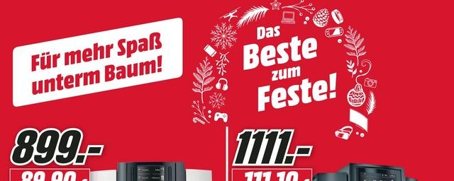MediaMarkt Mediamarkt (1612) Dezember 2018 KW50 9