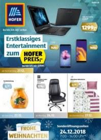 Hofer Hofer KW52 Dezember 2018 KW51