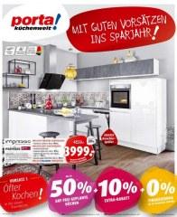 Porta Möbel Porta (Traumküchen zu Spitzenpreisen! porta startet ins Sparjahr. - 22.12.2018 - 22.01.2