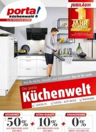 Porta Möbel Porta (Jetzt bis zu 50 % auf frei geplante Küchen plus 10 % Extra-Rabatt - 02.01.2019 -