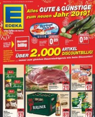 Edeka Edeka (weekly) Januar 2019 KW01