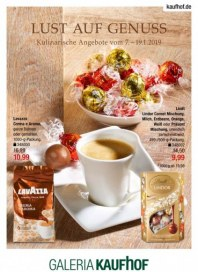 Galeria Kaufhof Galeria-Kaufhof Gourmet (Lust auf Genuss) Januar 2019 KW02