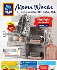 Aldi Süd Aldi Süd (Weekly) Januar 2019 KW04 2