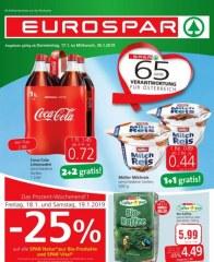 EUROSPAR Eurospar (KW2) Januar 2019 KW03