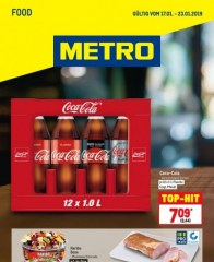 Metro Cash & Carry Metro (Food 17.01.2019 - 23.01.2019) Januar 2019 KW03