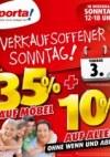 Porta Möbel Porta (Jetzt bis zu 35 % Rabatt auf Möbel plus 10 % auf alles - 30.01.2019 - 02.02.2019)