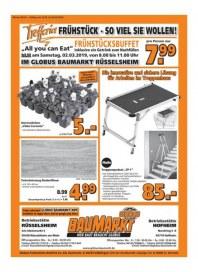 Globus Baumarkt Globus BM (weekly) Februar 2019 KW09 8