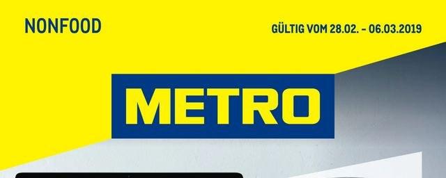 Metro Cash & Carry Metro (Non-Food 28.02.2019 - 06.03.2019) Februar 2019 KW09