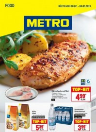 Metro Cash & Carry Metro (Food 28.02.2019 - 06.03.2019) Februar 2019 KW09