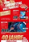 MediaMarkt Mediamarkt (Zum Geburtstag Viel Zurück) Februar 2019 KW09