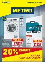 Metro Cash & Carry Metro (Non-Food 14.02.2019 - 20.03.2019) Februar 2019 KW07
