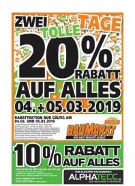 Globus Baumarkt Globus BM (weekly) März 2019 KW10 10
