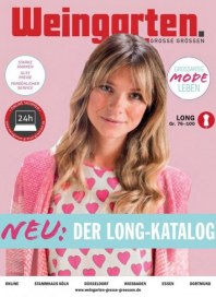 Weingarten Damen GROSSE GRÖSSEN Long-Prospekt März 2019 KW10