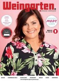Weingarten Damen GROSSE GRÖSSEN Maxi-Prospekt März 2019 KW10